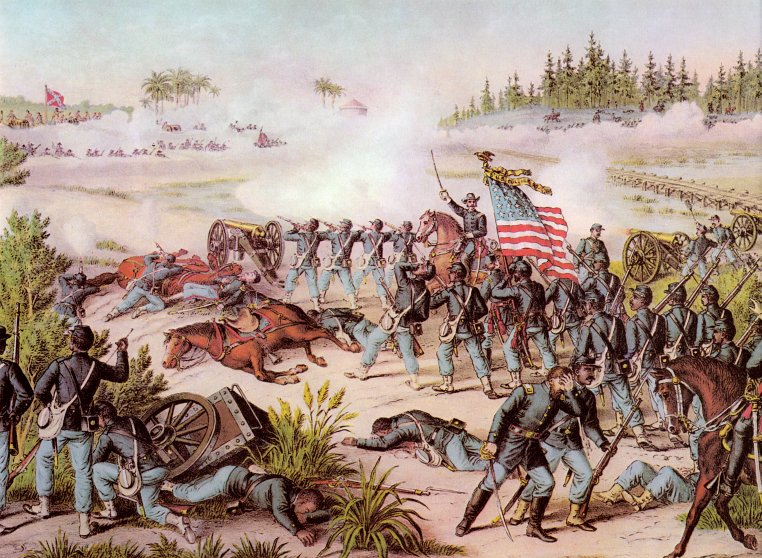 Sample color portfolio image from the Encyclopedia of Civil War Battles